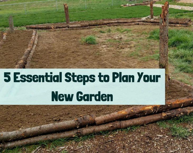 Plan your new garden